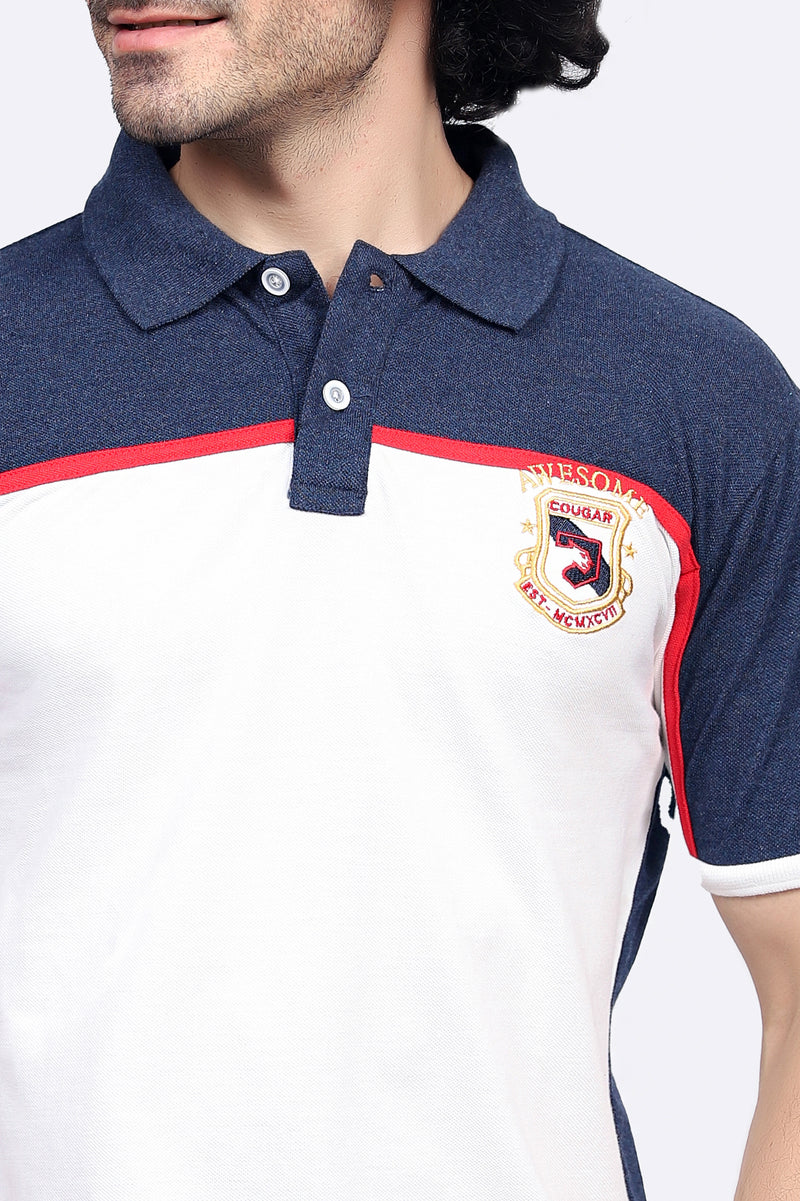 Red-Line Logo Polo