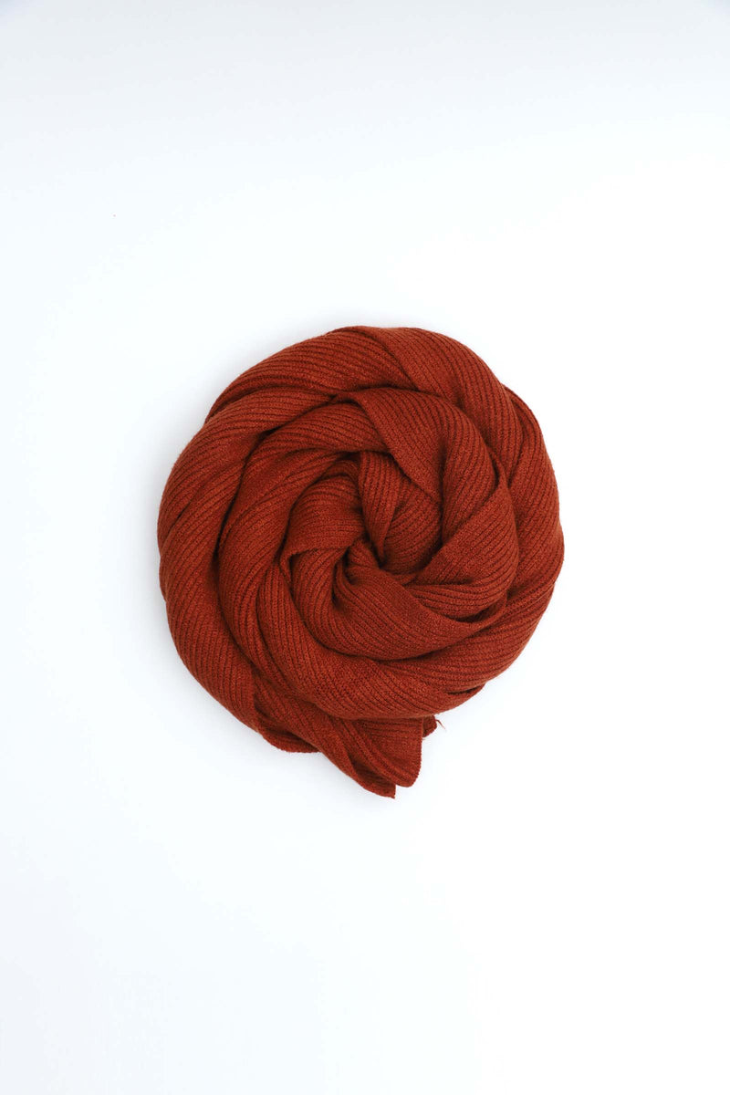 Rustic Brown Scarf
