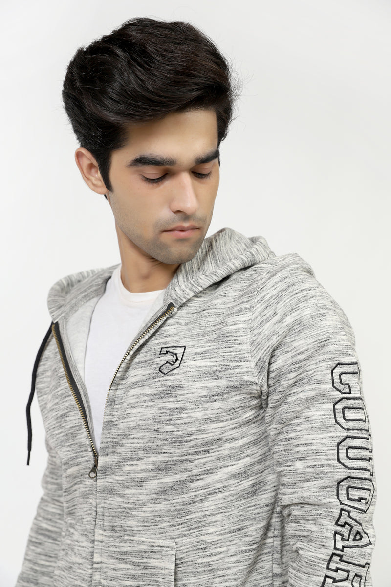 Grey Heather Hoodie