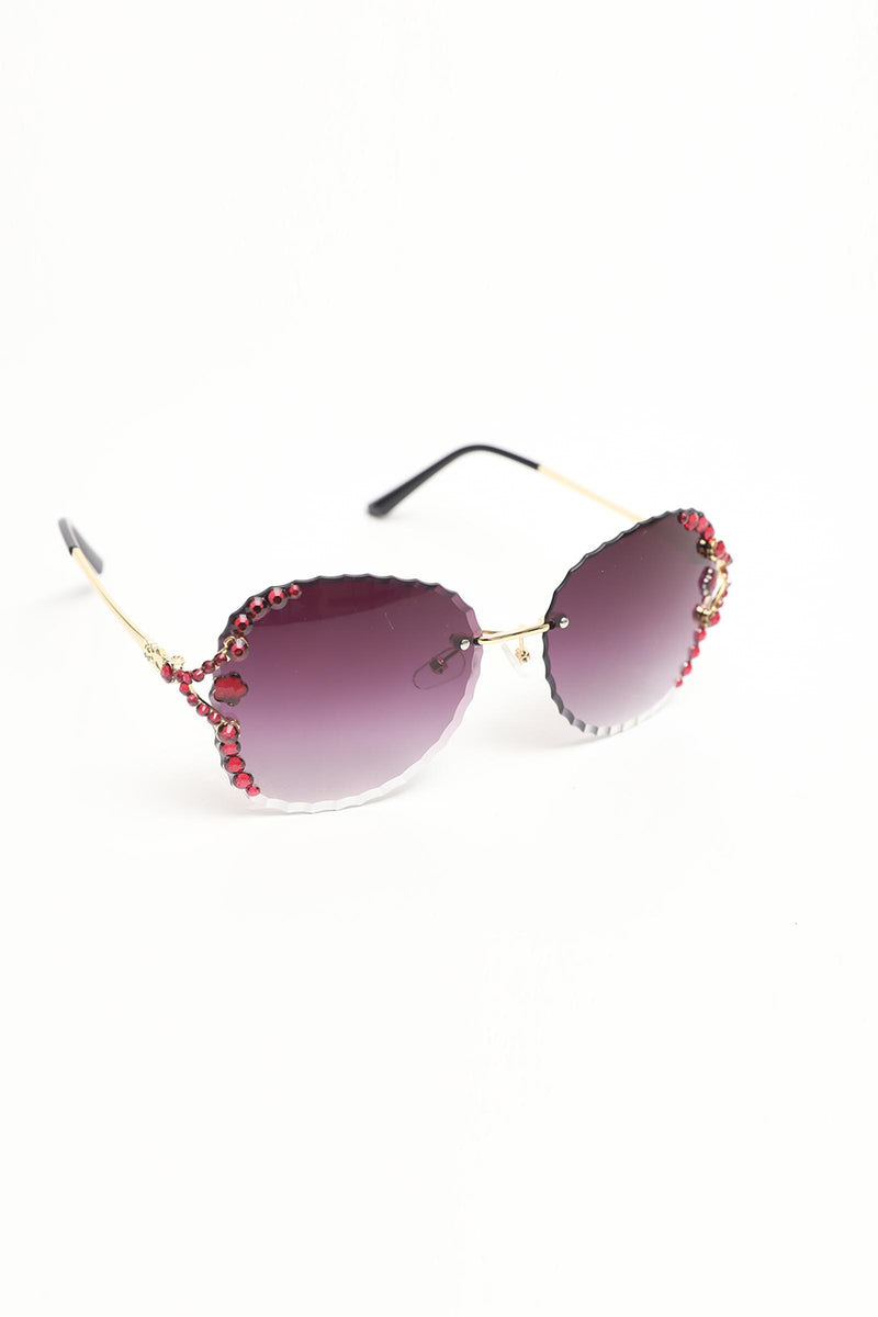 Tinted Ruby Glasses