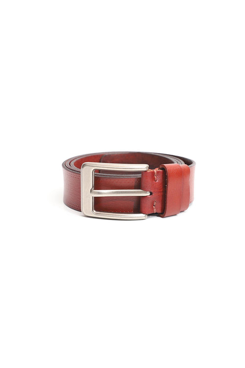 Smooth Rustic Leather Belt