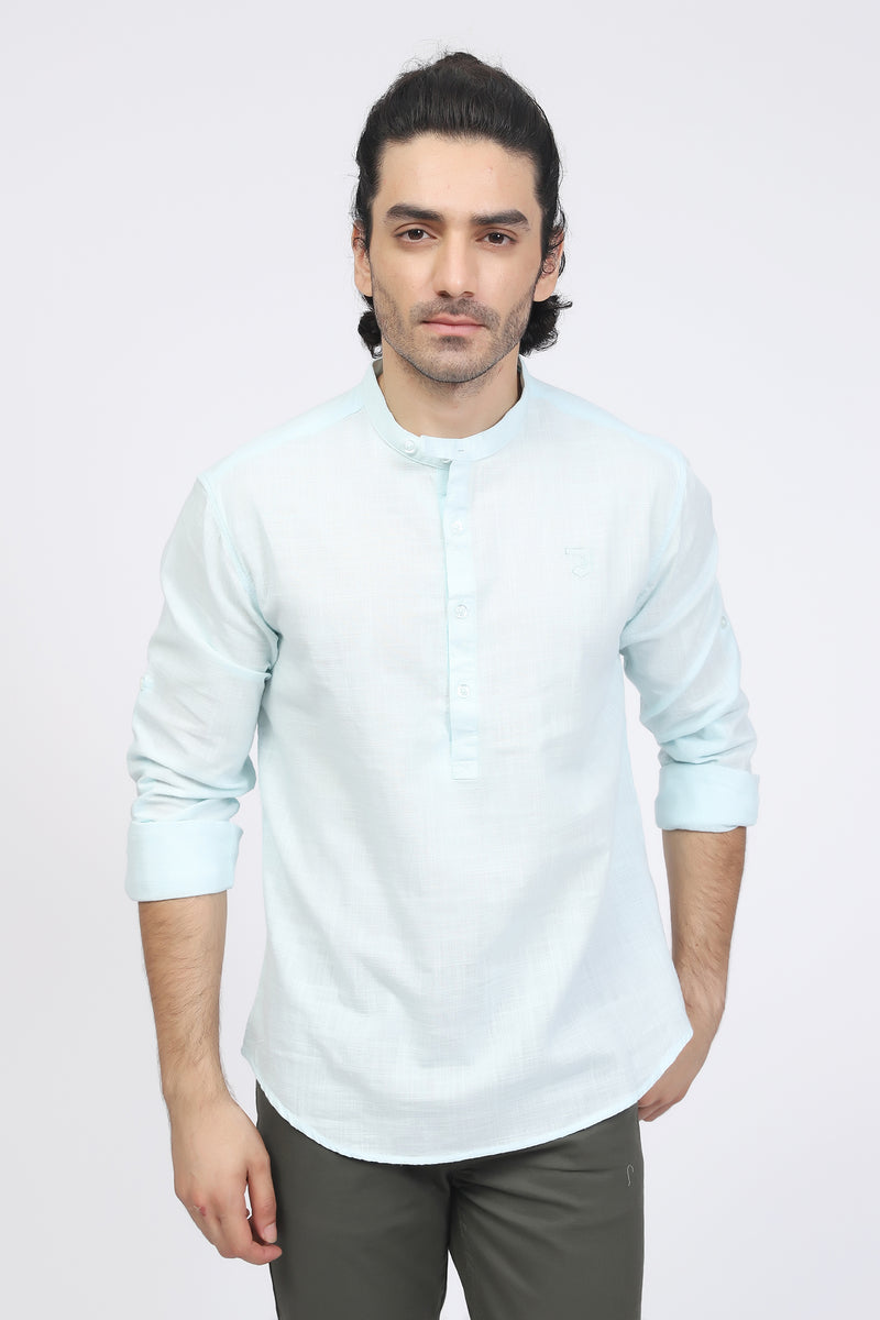 Aqua Color Shirt