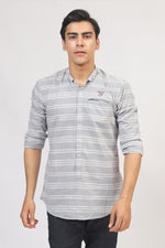 Grey with White Lining Shirt