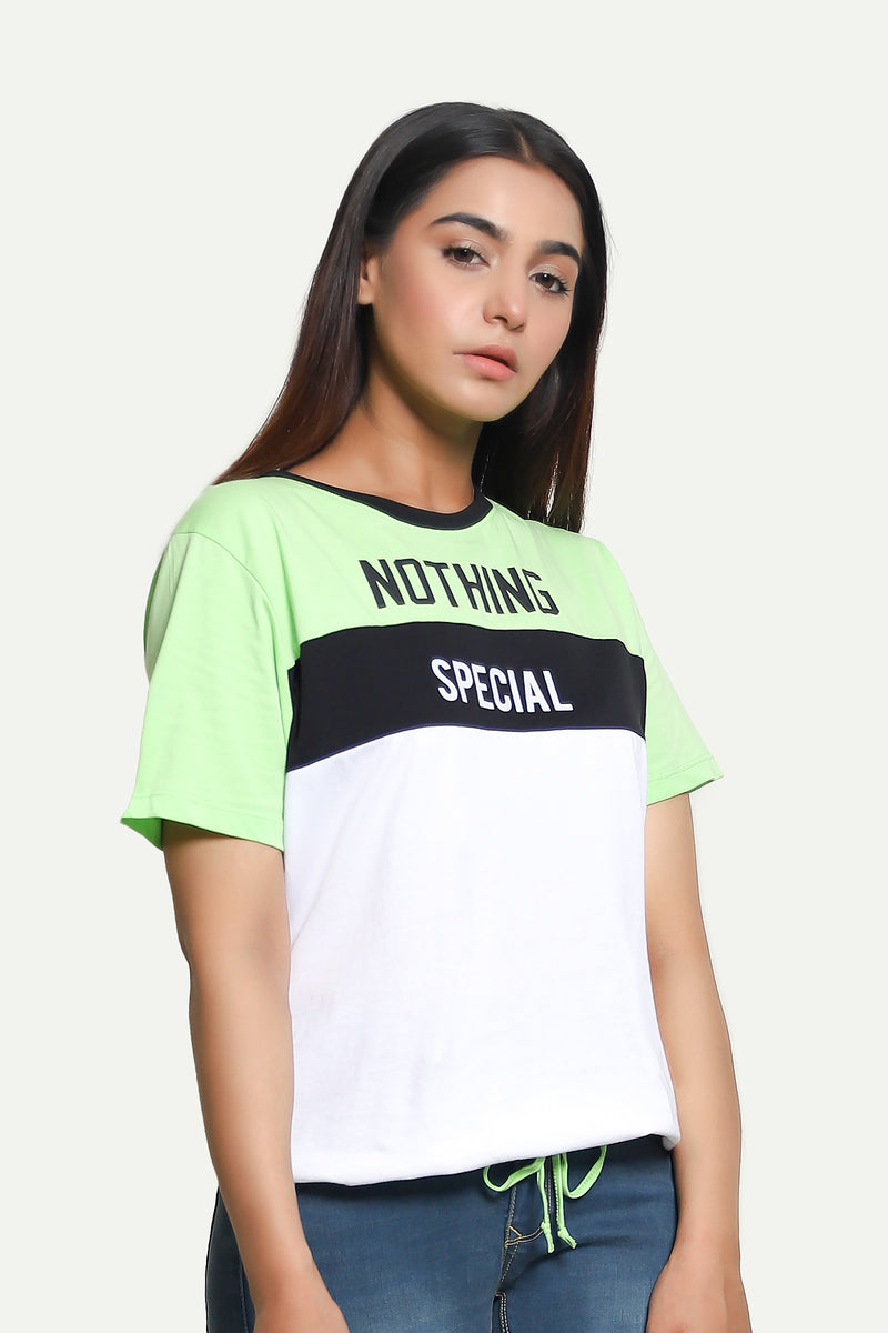 Green Nothing Special Tee