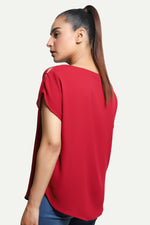 Plain Red Top