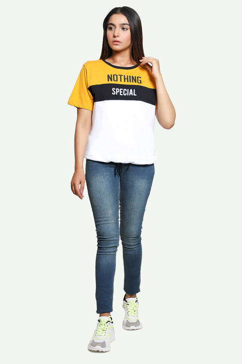 Yellow Nothing Special Tee