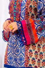 Pretty Silk Kurti With All The Colors Of Festivity