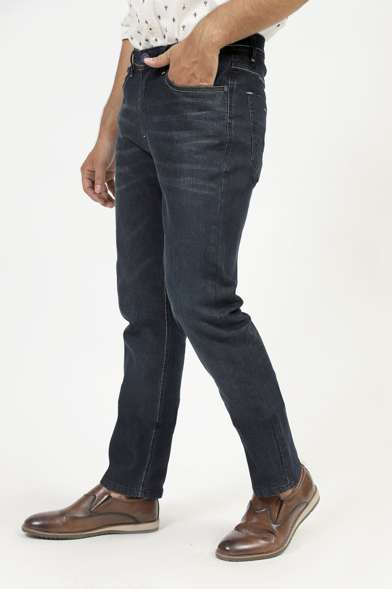 Basic Jeans With Shaded Wash