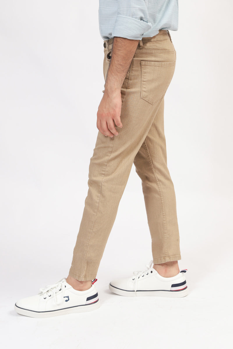 Khaki 5-Pocket Pants