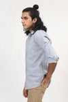 Basic Blue 2-Pocket Shirt