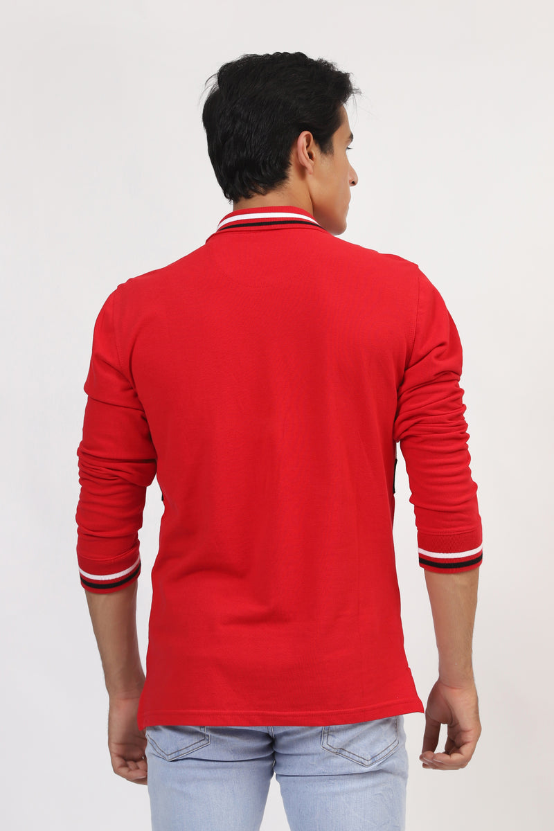 Cougar Red Polo