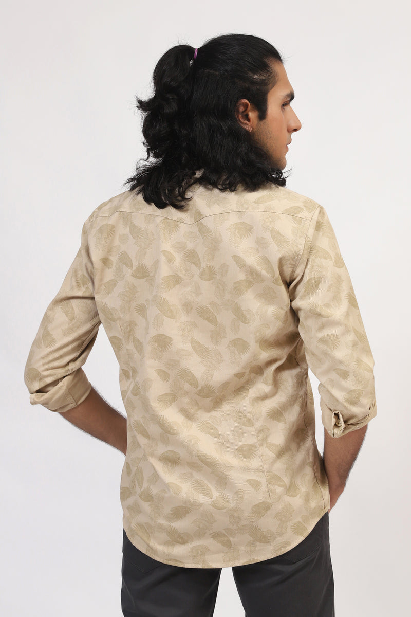 All-Over Printed Skin Shirt