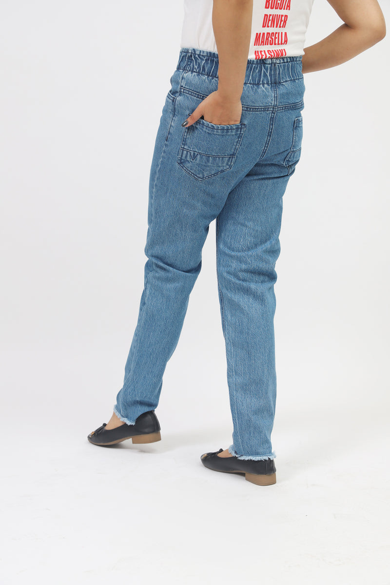 Blue Denim Trouser