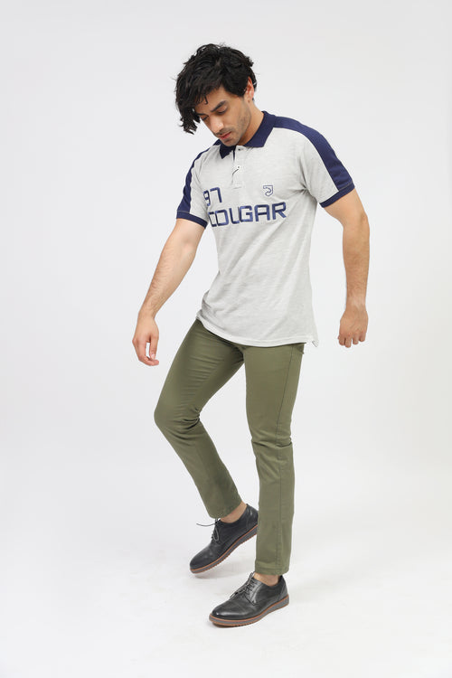 Cougar Logo Polo