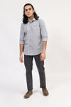 Plain Grey Casual Shirt