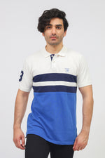 Double Colored Striped Polo