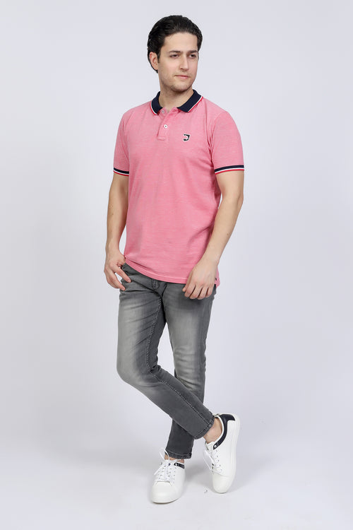 Light Red Polo