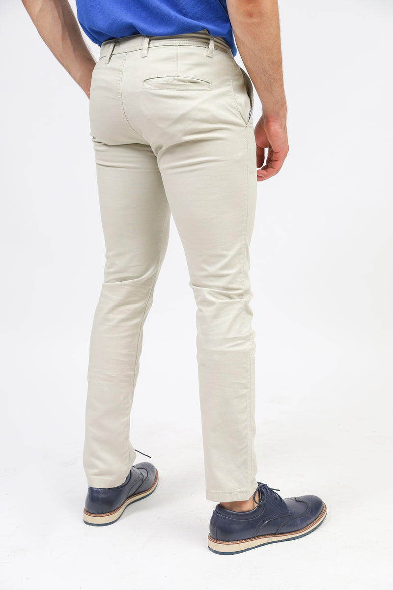 Oatmeal Chinos
