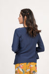 Navy Side Bow Top