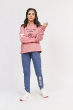 Pink Graphic Sweatshirt