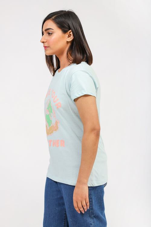 Green Graphic Tee