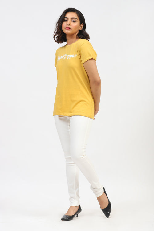 Yellow Road Tripper Tee