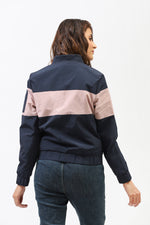 Color Block Bomber Jacket