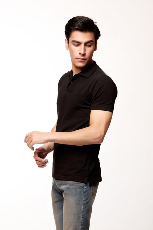 Basic Black Polo