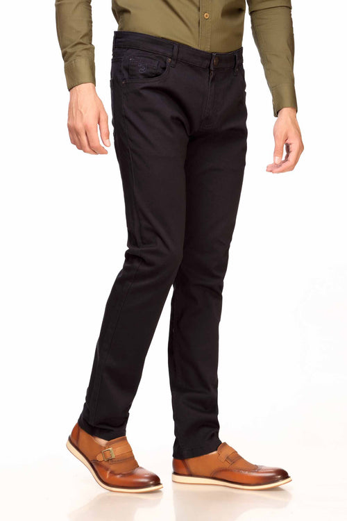 Navy 5-Pocket Pants