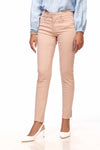 Powder Pink Faded Jeans