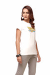 White Wonder Woman Tee