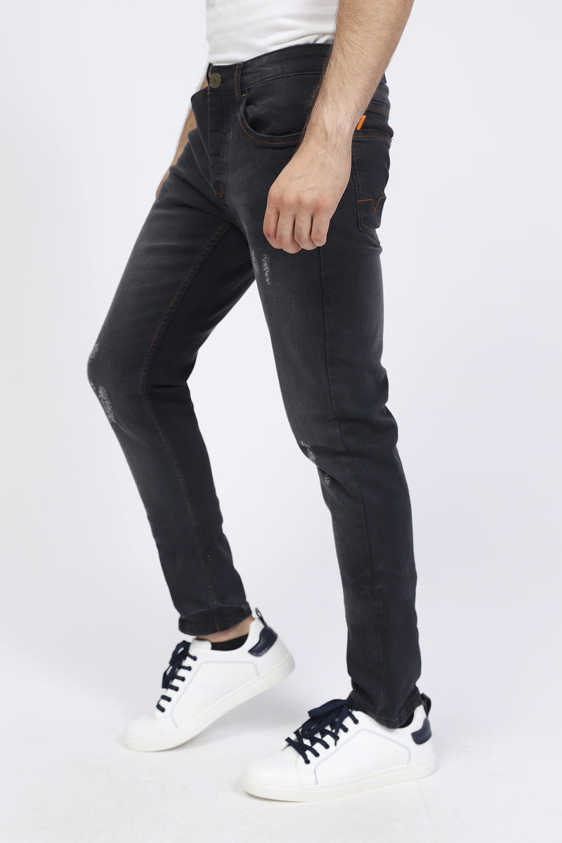 Black Rugged Jeans