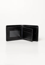 Black Debossed Wallet
