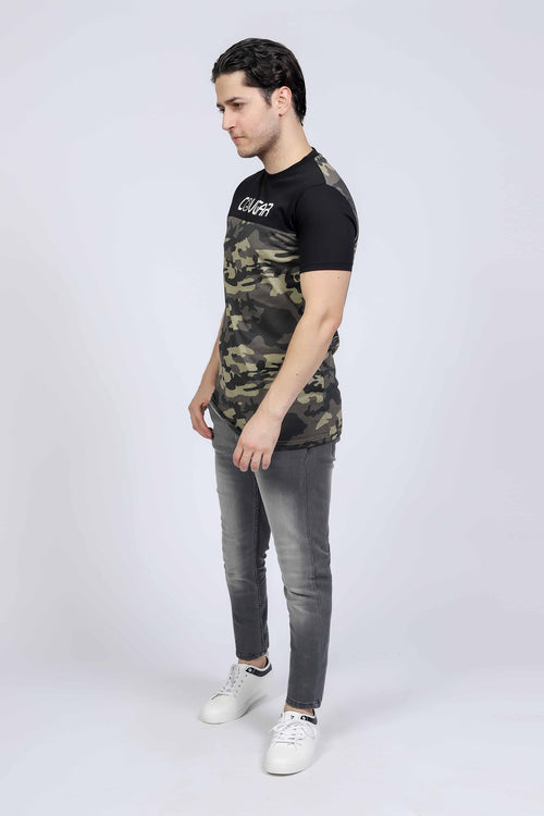Cougar Camouflage T-Shirt