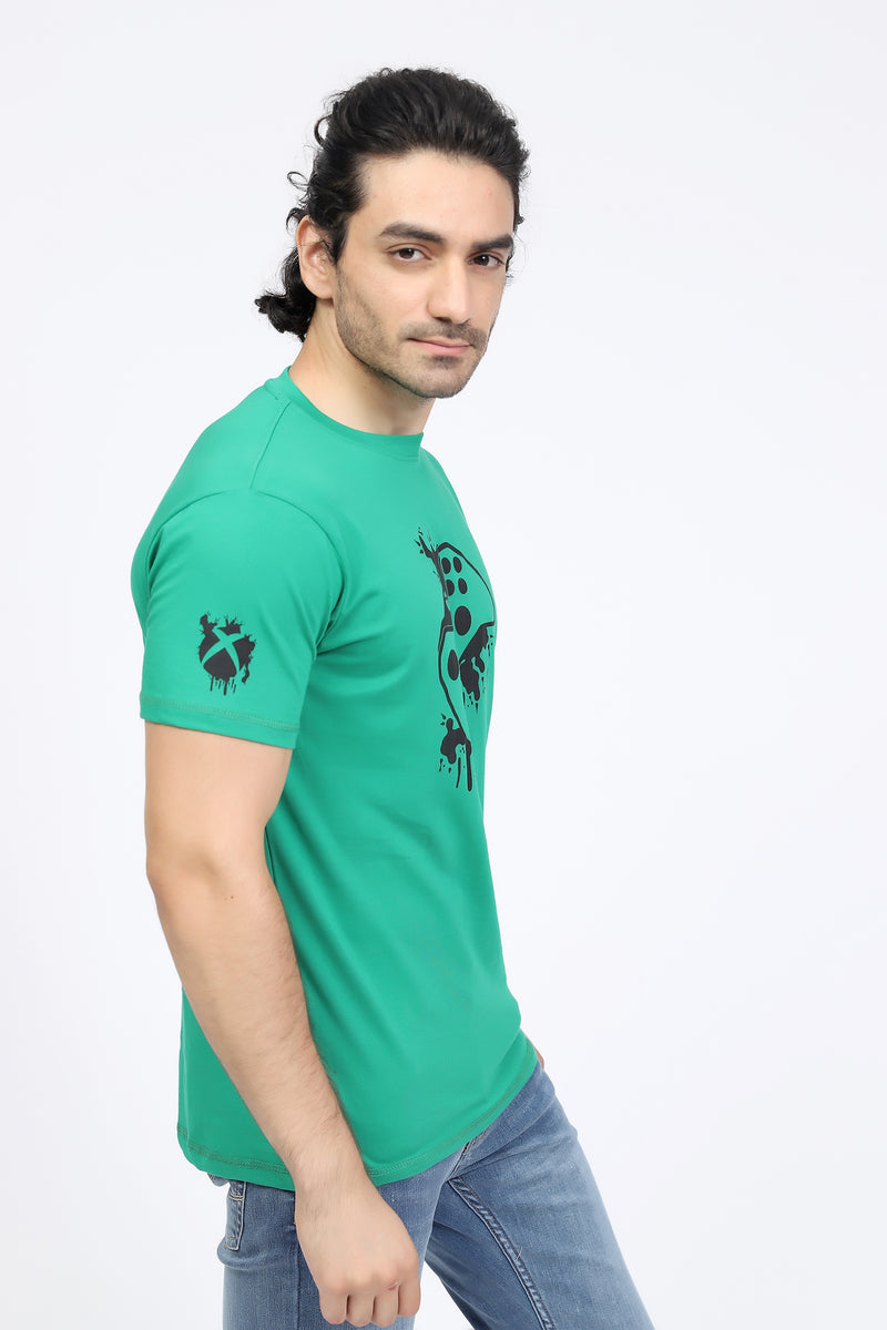 Green Gamer T-Shirt