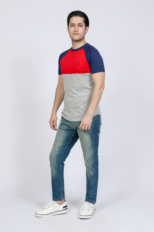 Tri Color T-Shirt