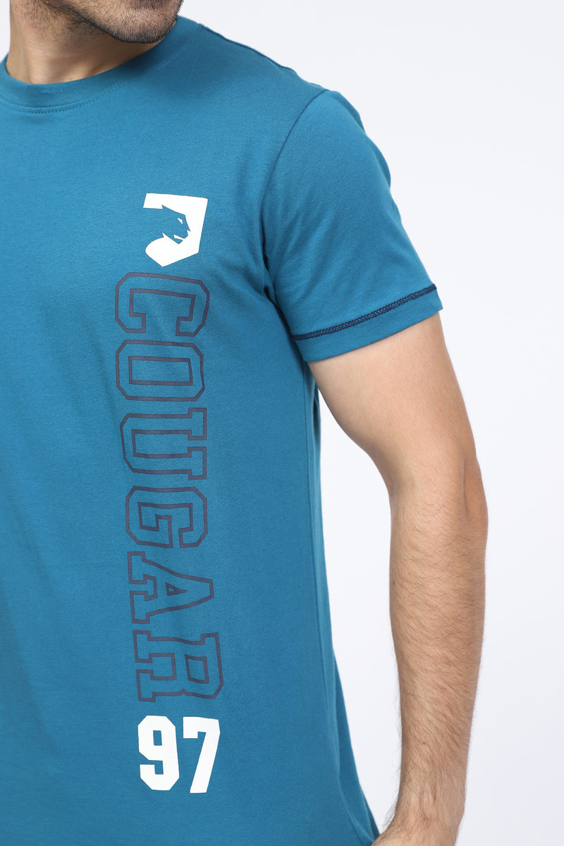 Blue Cougar T-Shirt