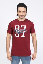 Dark Red Cougar T-Shirt