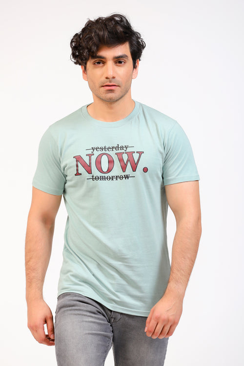 Light Aqua Blue Tee