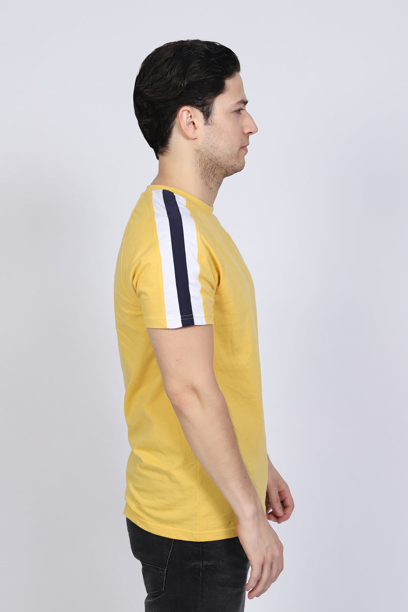 Yellow with Stripes T-Shirt