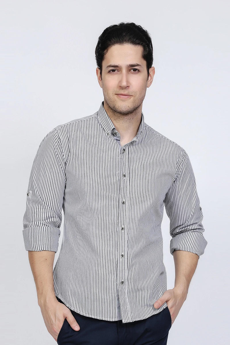 Black Lining Grey Shirt