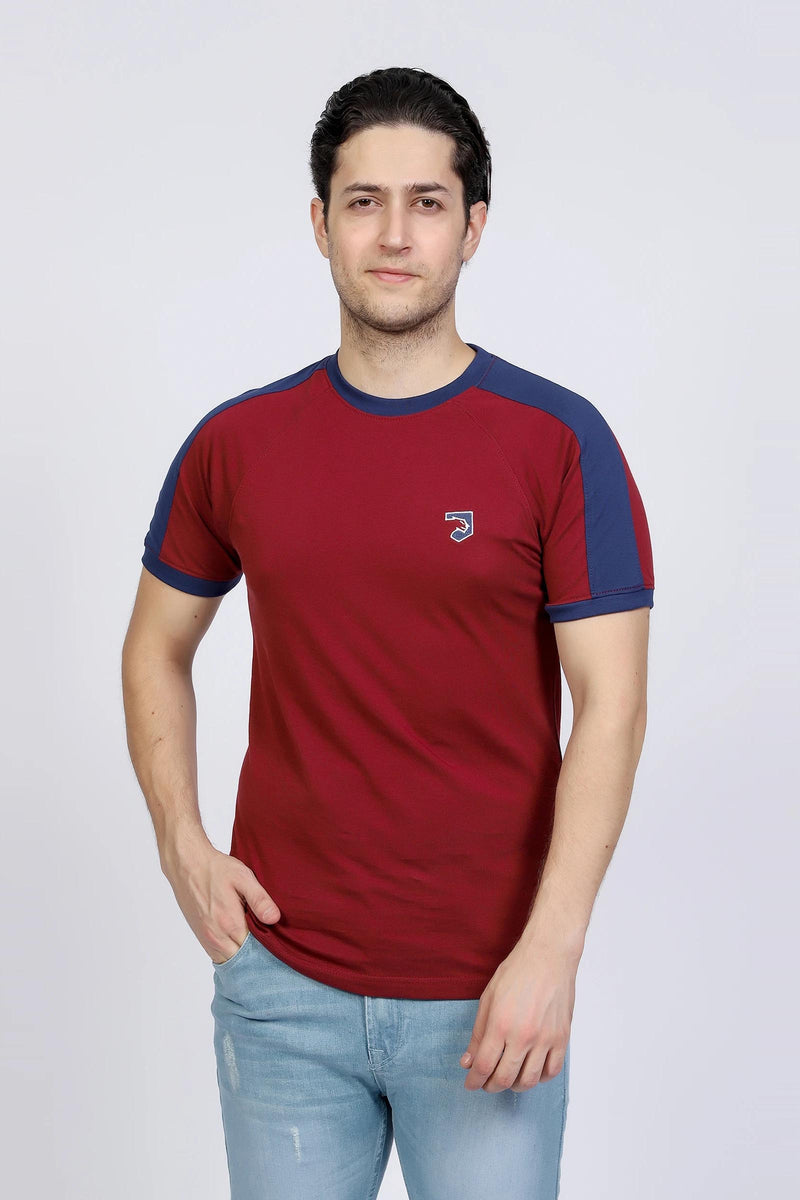 Maroon & Blue T-Shirt