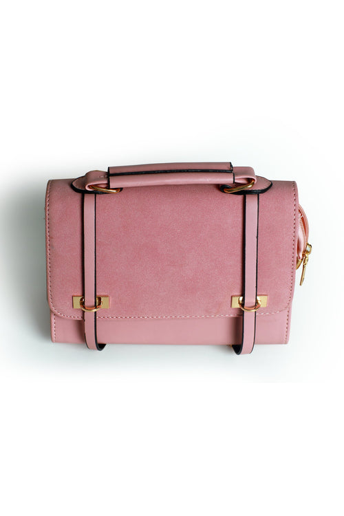 Tea Pink Flap Bag