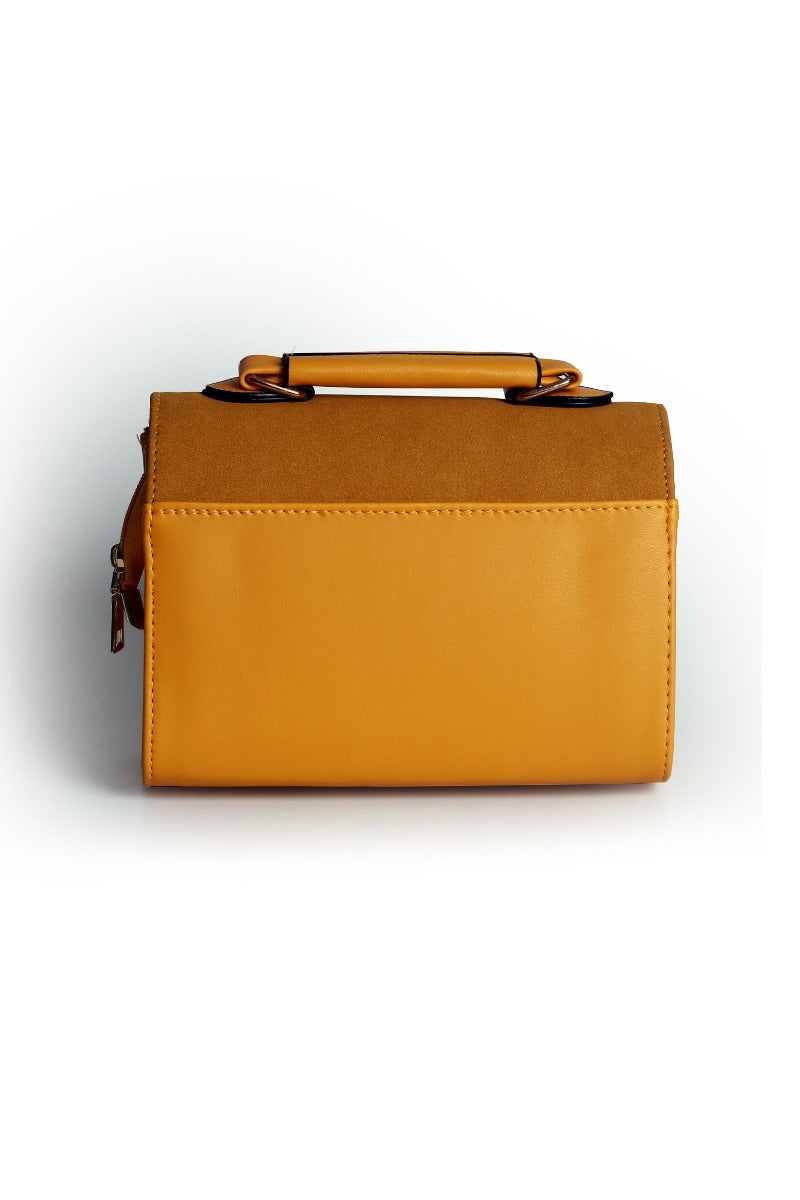 Yellow Flap Bag