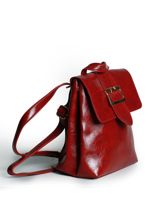 Red Buckle Bag
