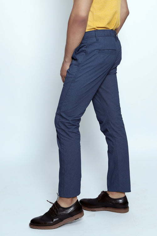 Navy Denim Chinos