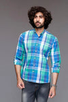 Grassy Green Checked Shirt