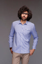 Micro Checkered Casual Shirt