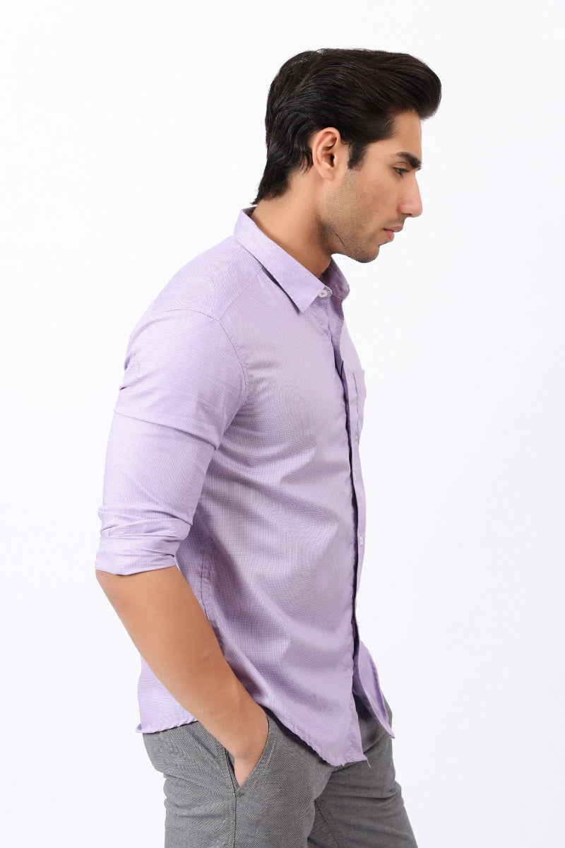 Purple Hue Casual Shirt