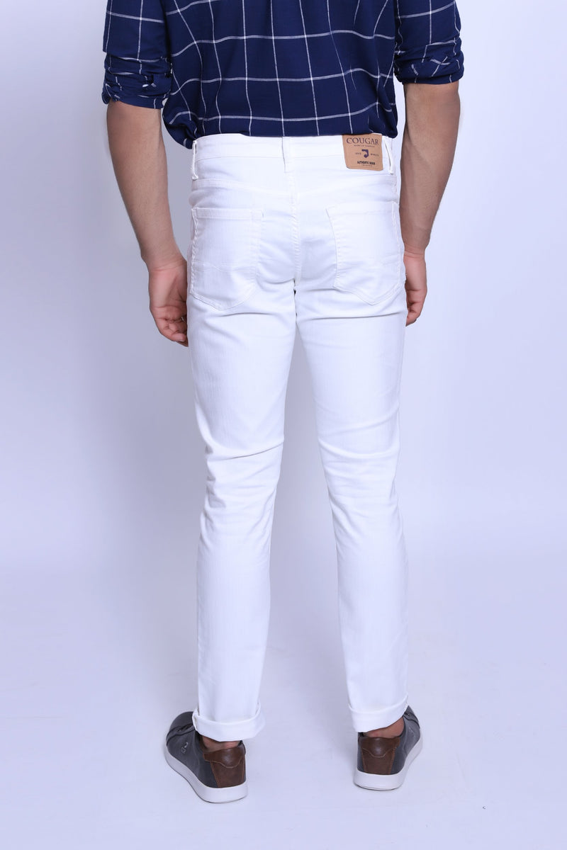 Oyster White Pants